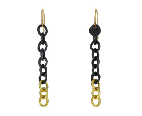 Letting Go Chain Earrings - TWISTonline