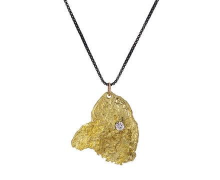 Gold Pendant That Place In Between Necklace - TWISTonline