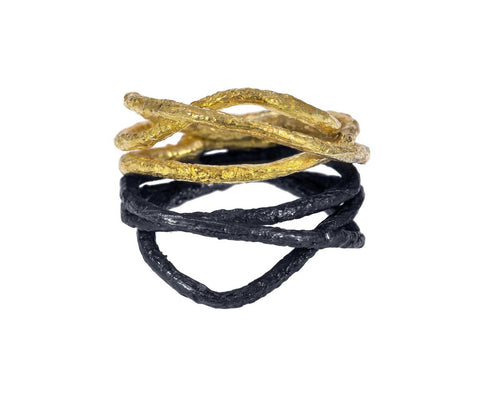 Blackened Silver and Gold Terra Ring zoom 1_emanuela_duca_gold_blackened_silver_terra_ring