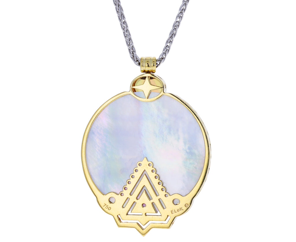 Mother of Pearl Lalu Pendant Necklace