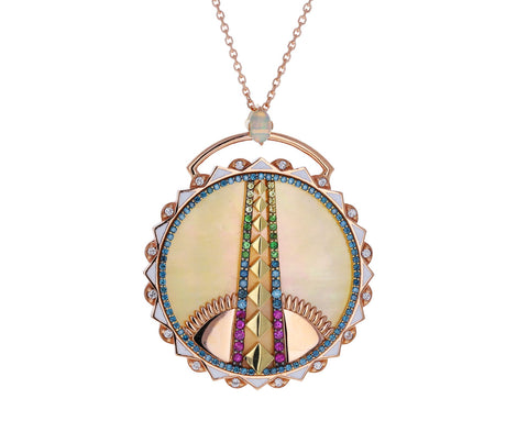 Mother Of Pearl King's Dusk Pendant