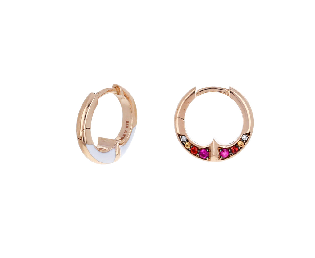 Sapphire Anther Hoops - TWISTonline