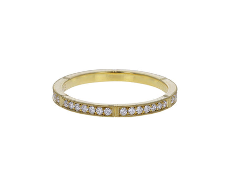 Gold Isabella Diamond Band