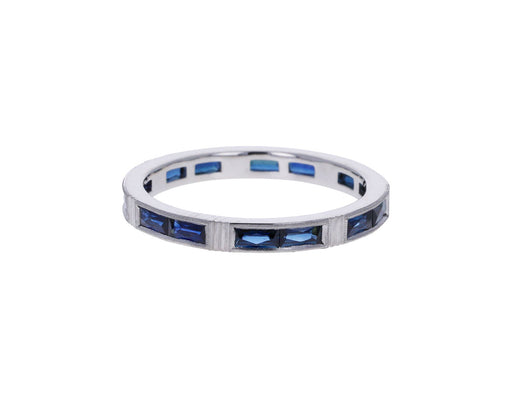 Baguette Sapphire Isabella Band
