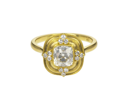 Thea Halo Diamond Solitaire - TWISTonline