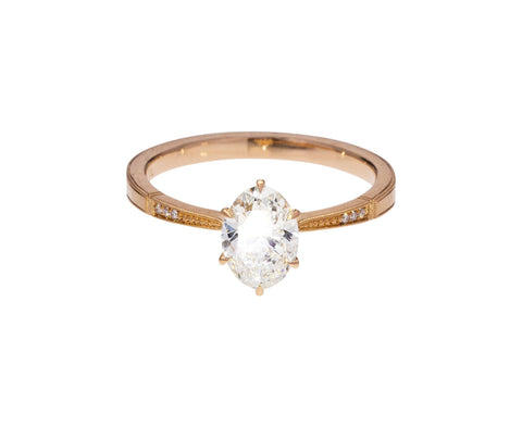 Laurel Diamond Solitaire