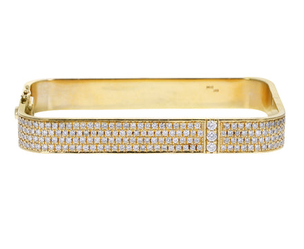 Full Pavé Diamond Lockdown Bracelet