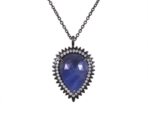 Natural Sapphire and Diamond Auto Necklace - TWISTonline