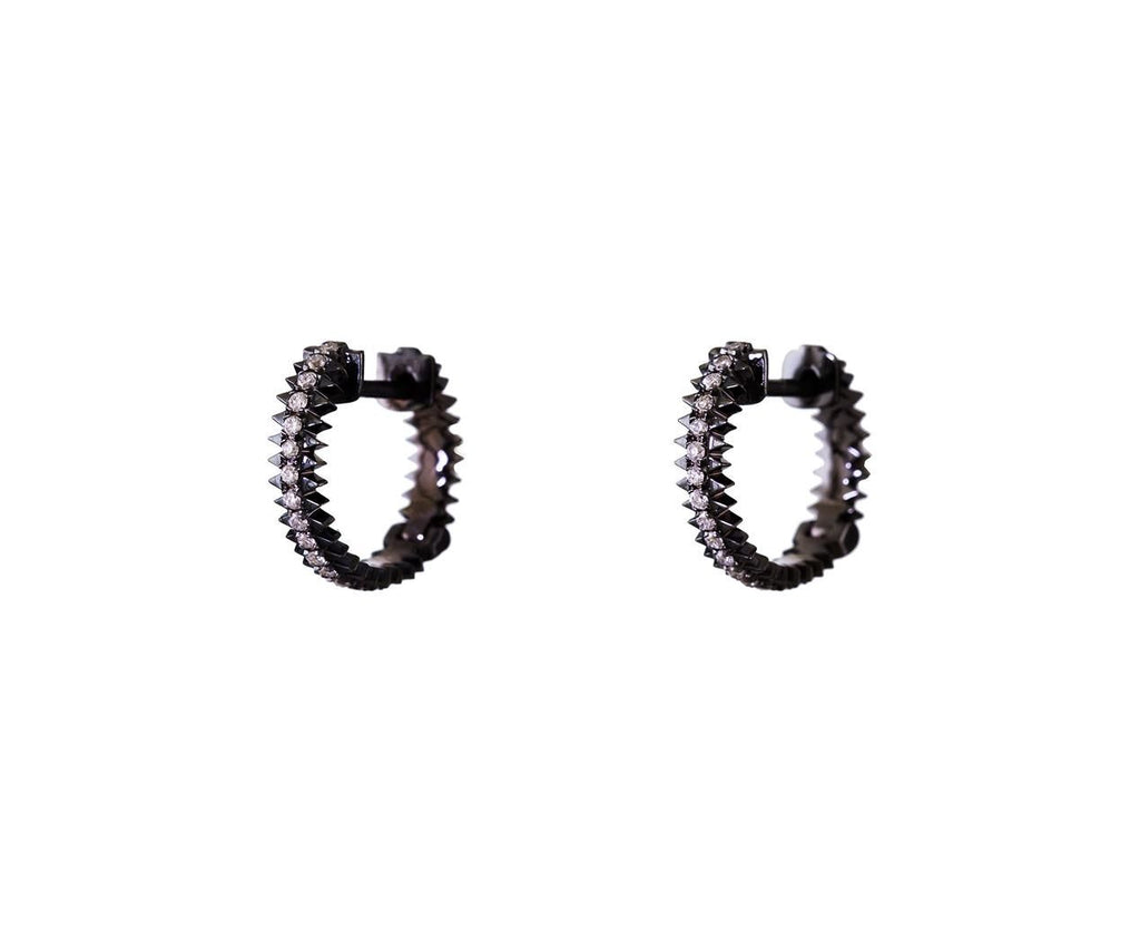 Blackened White Gold Diamond Zipper Hoops zoom 1_eva_fehren_designer_blackened_white_gold_diamond