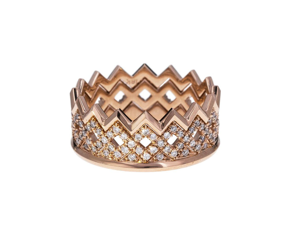 Beveled Rose Gold Ziggy Band zoom 2_eva_fehren_gold_ziggy_ring