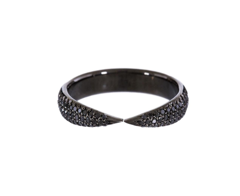 Black Diamond Kissing Claw Ring - TWISTonline
