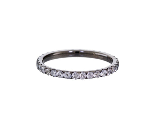 Thick Gray Diamond Band - TWISTonline