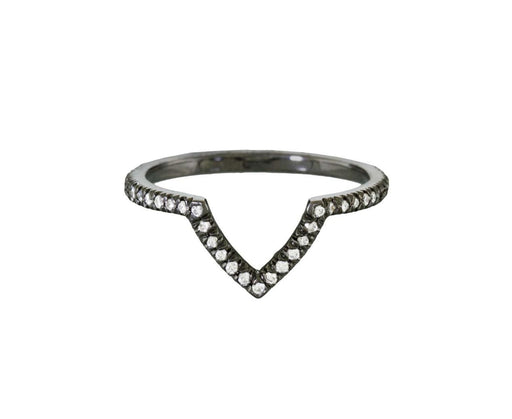 Marquise Misfit Ring with Diamonds - TWISTonline