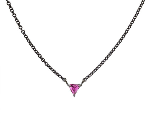 Special NBCF Rubelite Tiny Trillion Necklace - TWISTonline