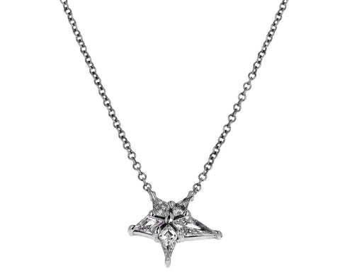 Diamond Nova Pendant Necklace