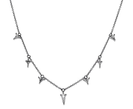 Geometric Diamond Nova Necklace