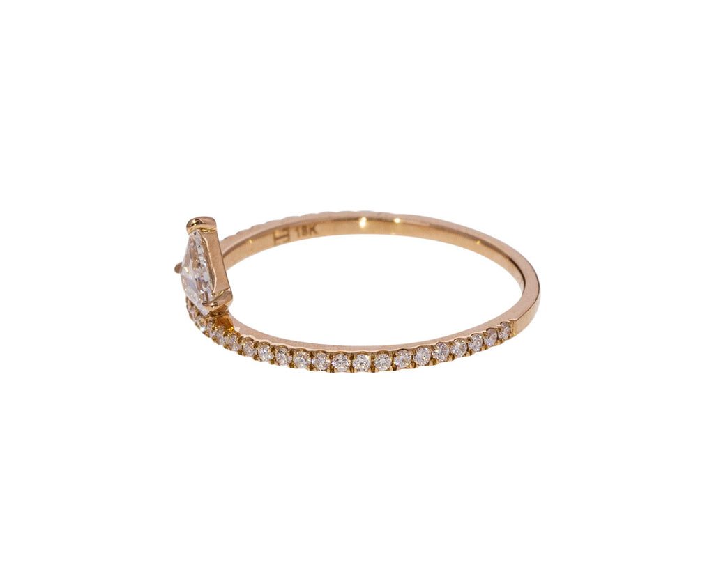 Off Set Diamond Kent Ring - TWISTonline