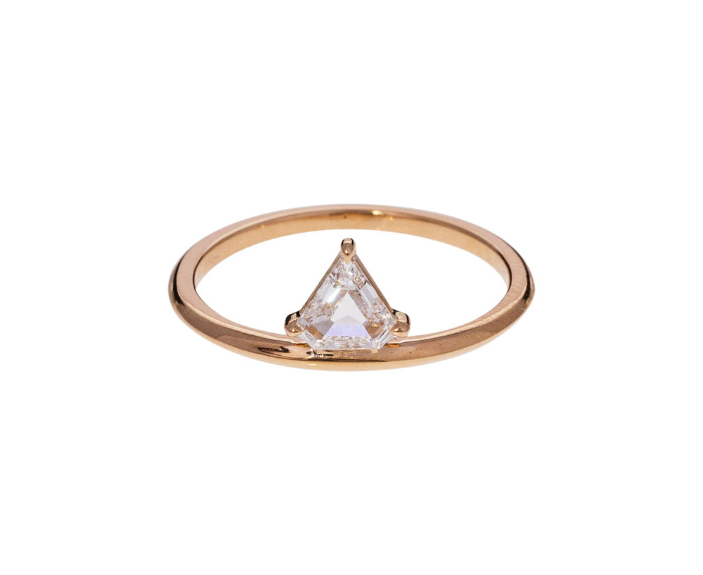 Off Set Diamond Kent Solitaire