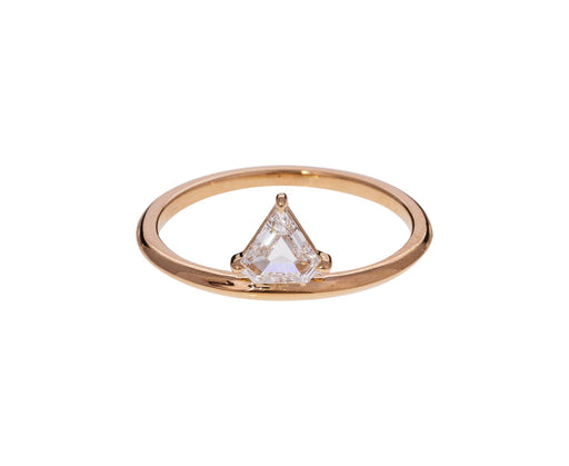 Off Set Diamond Kent Solitaire - TWISTonline
