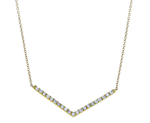 Diamond Sergeant Necklace