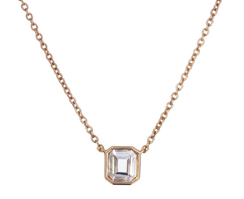 Emerald Cut Diamond Pendant Necklace zoom 1_eva_fehren_gold_emerald_cut_diamond_pendant