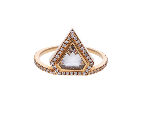 Rose Gold Diamond Kent Ring
