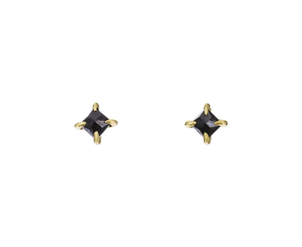 Inverted Black Diamond Studs - TWISTonline