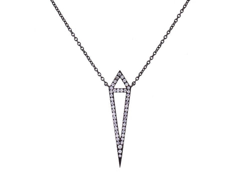 Diamond Dagger Necklace zoom 1