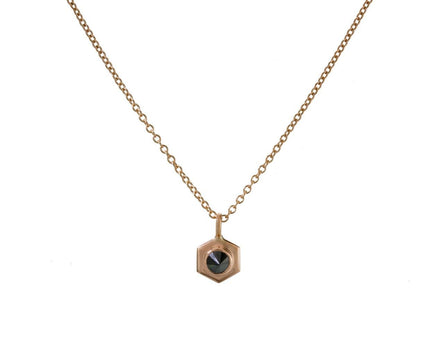 Black Diamond Bolt Necklace - TWISTonline