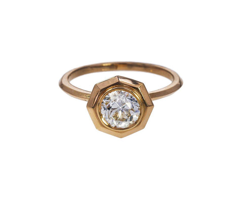 Diamond Belle Etoile Solitiare zoom 1_eva_fehren_rose_gold_diamond_the_belle_etoile_ri