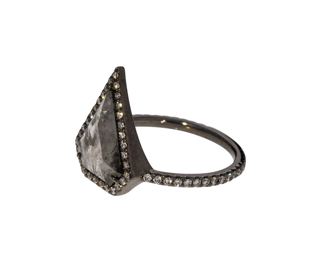 Gray Diamond Kent Shield Ring - TWISTonline