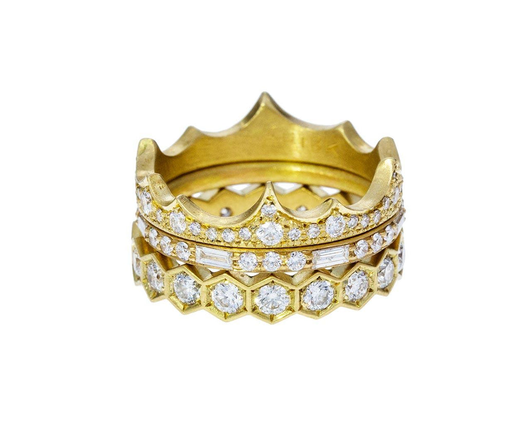 Summit Diamond Crown Ring - TWISTonline