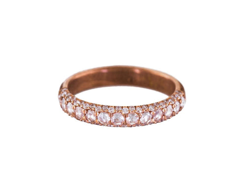 Rose Gold Laksmi Reprise Ring - TWISTonline