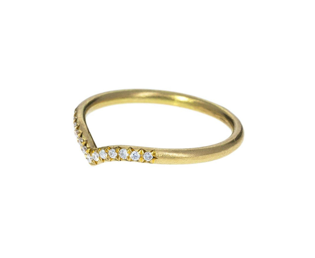 Diamond 'V' Ring zoom 2annie_fensterstock_gold_diamond_v_shaped_ring