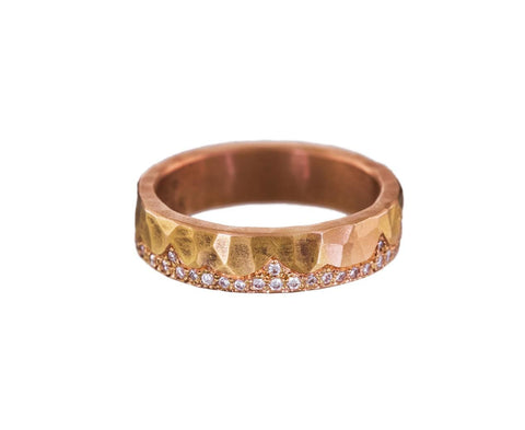 Summit Diamond Ring  zoom 1_annie_fensterstock_rose_gold_diamond_summit_ring
