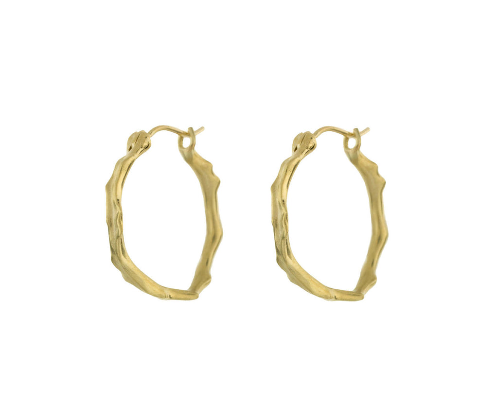 Gold Coral Stick Hoops - TWISTonline