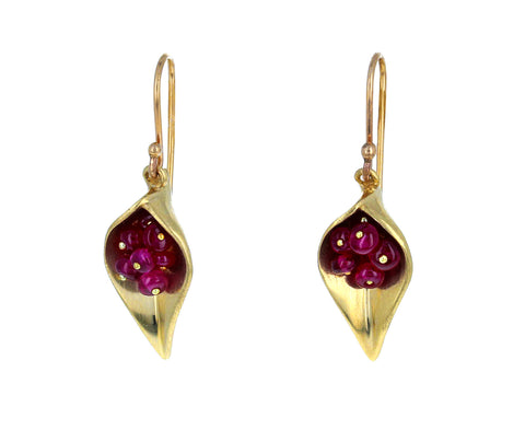 Ruby Day Lily Earrings - TWISTonline