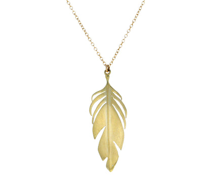 Feather Pendant Necklace - TWISTonline