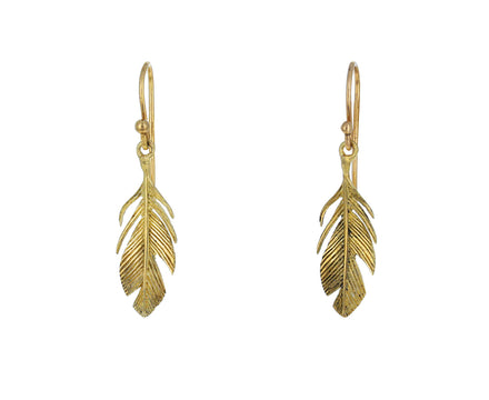 Small Feather Earrings - TWISTonline