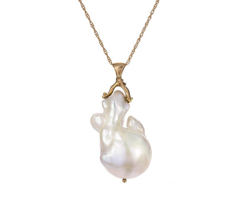 Natural Pearl Branch Necklace - TWISTonline