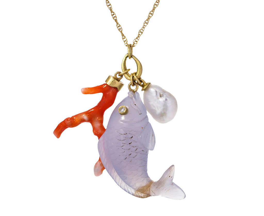 Ocean Charm Trinket Necklace - TWISTonline