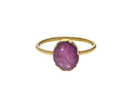 Star Ruby Egg Stacker Ring - TWISTonline