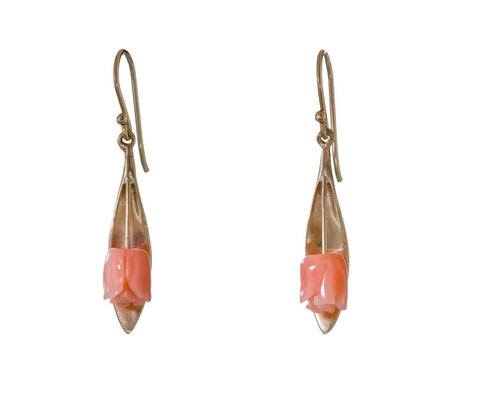 Coral Tulip Earrings - TWISTonline