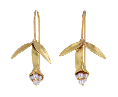 Pearl Wildflower Earrings - TWISTonline