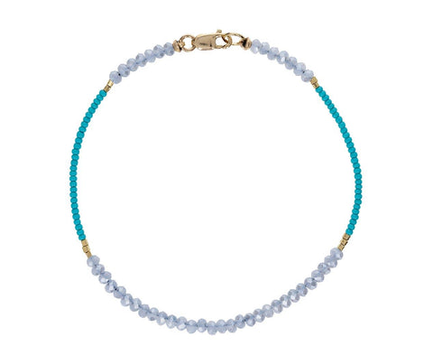 Mystic Quartz Beaded Bracelet - TWISTonline