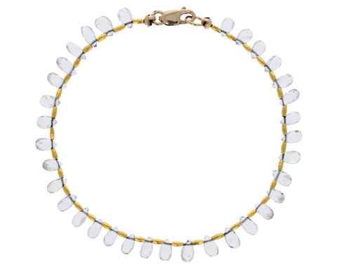 Topaz Beaded Bracelet