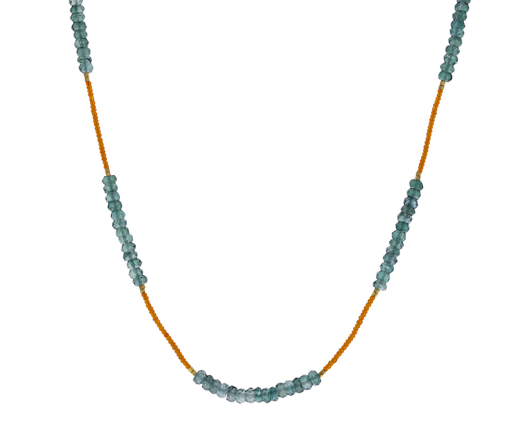 Mystic Quartz Bead Necklace