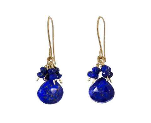Lapis Drop Earrings - TWISTonline
