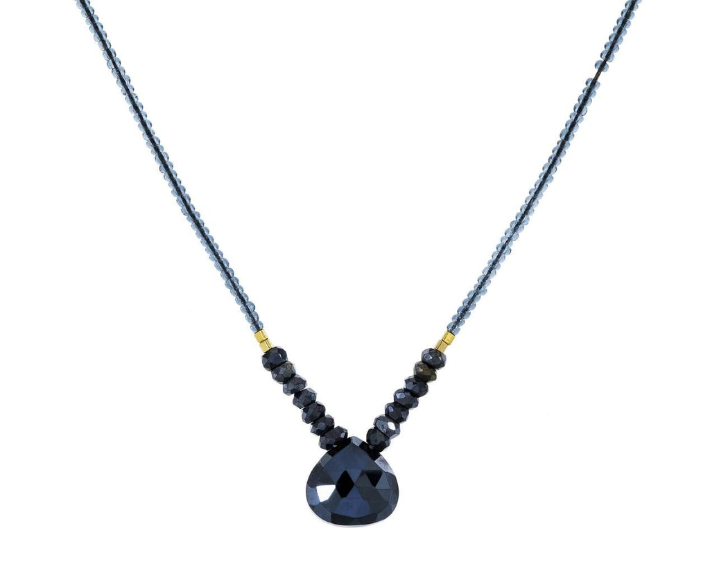 Black Spinel Pendant Necklace - TWISTonline
