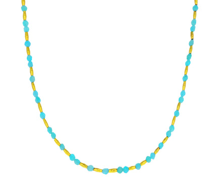 Amazonite Beaded Necklace
